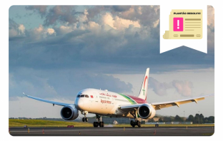 Royal Air Maroc suspende todos os seus voos internacionais por conta do Coronavírus